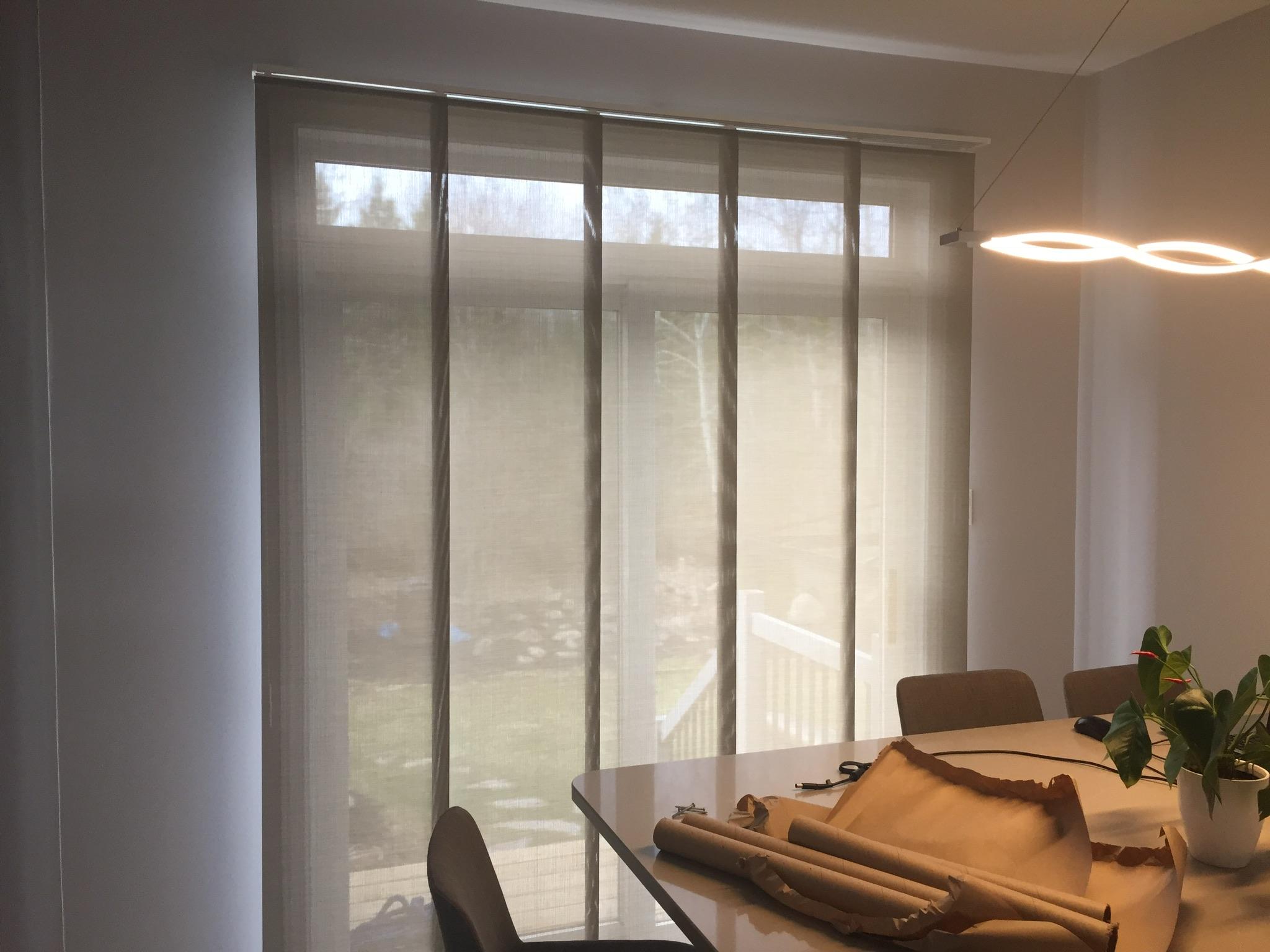 Custom Blinds Plus Ottawa Panel Tracks